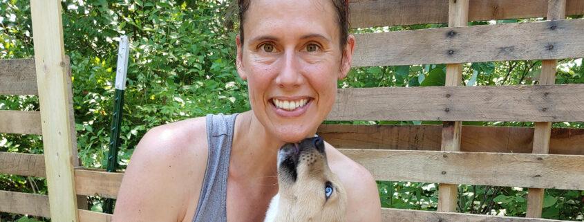 photo of Dori and her puppy